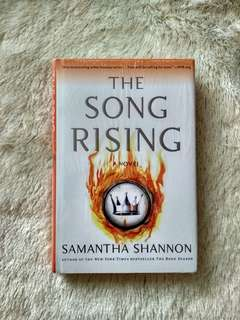 The Song Rising hardback