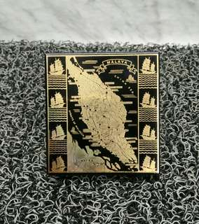 MALAYA MAP CIGARETTE CASE