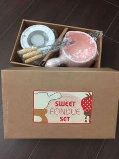 Sweet Fondue Set