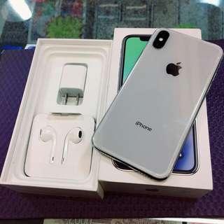 iPhone X 64G 銀色