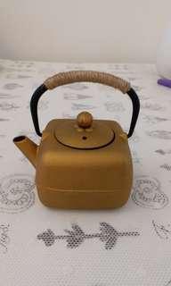 日式生鐵方圓茶壺