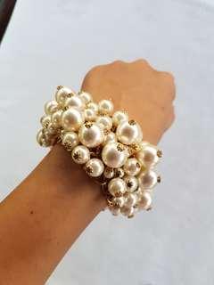 Pearl studded bracelet