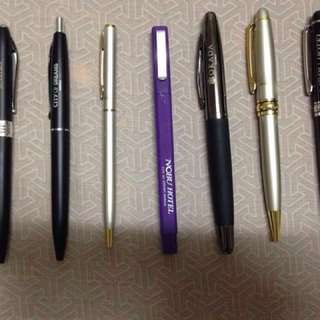 Hotel ball pens signpen ballpen black ink