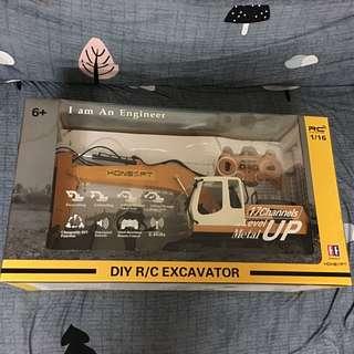 KONSEPT 工程車系列DIY R/C EXCAVATOR