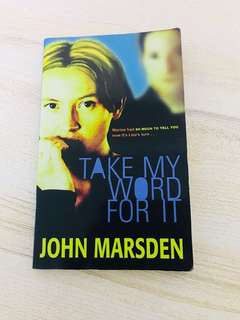 Take My Word For It by James Marsden