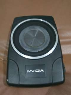 Subwoofer aktif MVIDIA 8 inch model Slim /kolong