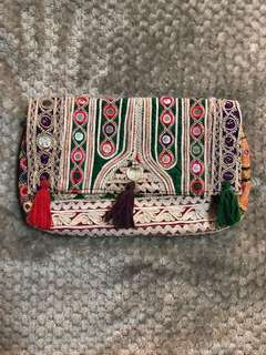 Bohemian Clutch from India