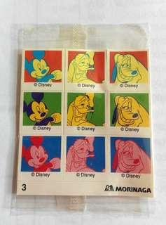 (八十年代)--森永制菓Morinaga(迪士尼合作Andy Warhol風格貼紙)