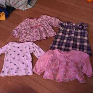 90 each babygirl dresses