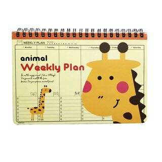 Animal Weekly Planner