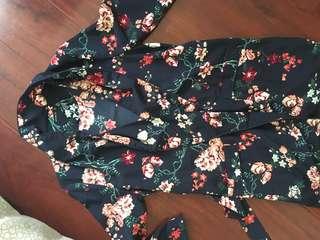 (REDUCED) Floral kimono