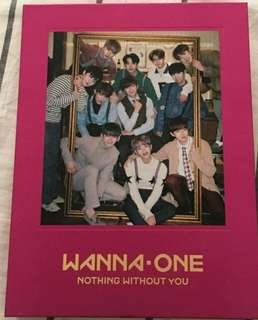 Wanna One Nothing Without You One ver. Album