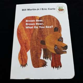 Brand New Eric Carle Brown Bear Board Books