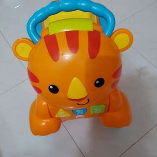 Fisher Price Musical Lion Ride