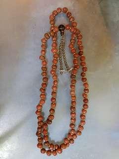龍宮舍利 necklace 108 Arahant Relic Stone,  Relics Of Buddhist saint.