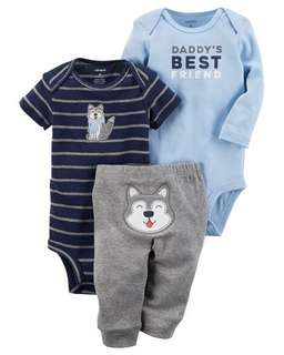Bnwt carters little character set (24m)