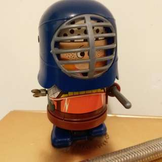 日本製造懷舊玩具上錬公仔(罕有)