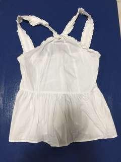 Cotton On White Halter Top