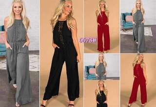 Plain Jumpsuit