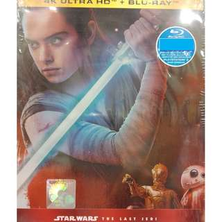 Star Wars The Last Jedi Ultimate Collection's Edition 4K Ultra HD +Blu-ray