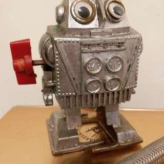 香港製造懷舊玩具上鍊公仔(罕有)