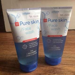 Face Wash Pure Skin Oriflame