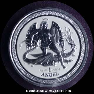 Isle of Man silver coin