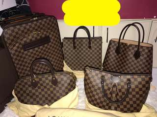 selling my personal use lv pegase 45 demiere ebene