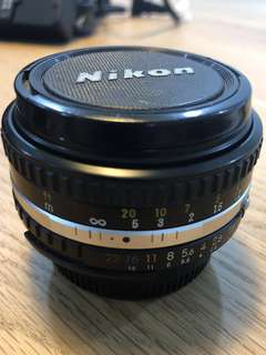 Nikon Lens Series E 50mm 1:18 Made in Japan Classic