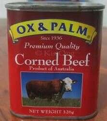 ⌛ Ox & Palm Corned Beef 326g