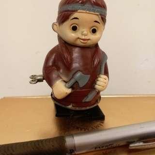 日本懷舊玩具上鍊公仔(罕有)