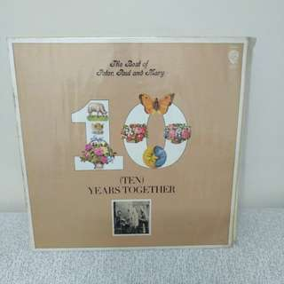 70年 peter Paul and Mary LP 黑膠唱片