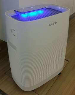 AIR PURIFIER WITH INTELLIGENT INDICATOR SENSOR