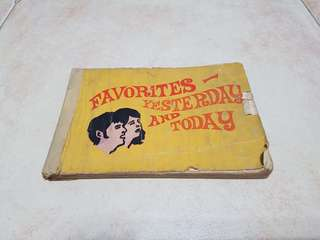 1960s Song Book
