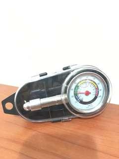 [胎壓計]可放氣 可洩壓 打氣量壓表 機車 汽車 腳踏車 重機