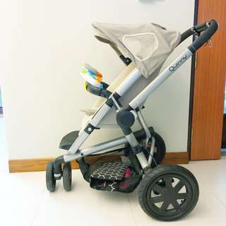 Good Condition Quinny Buzz stroller with freebies worth $130