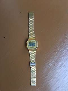 Authentic Casio Watch Gold