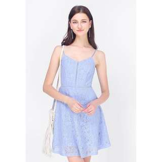 WORN ONCE Fayth Edel Lace Swing Dress (S)