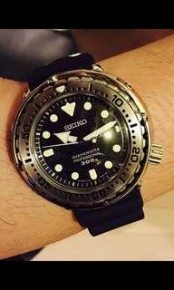 精工專業潛水錶300M