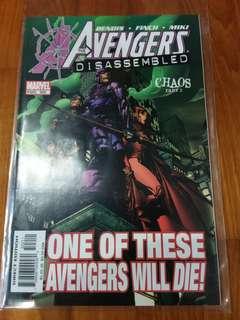 Marvel - The Avengers # 502