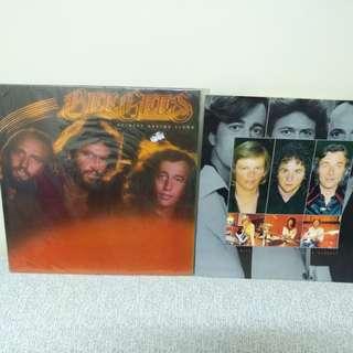 79年 Bee Gees lp黑膠唱片