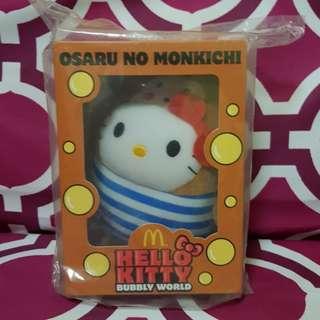 McDonald Hello Kitty Bubbly World - Osaru No Monkichi