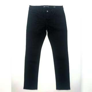 Penshoppe Skinny Pants Black for Men