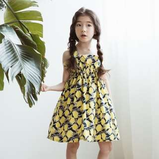 ☑️ INSTOCKS 3-15Y Girls Floral Dress G21032G (Mother sizes available)
