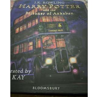 Harry Potter and the Prisoner of Azkaban Illustrated - Bloomsbury UK