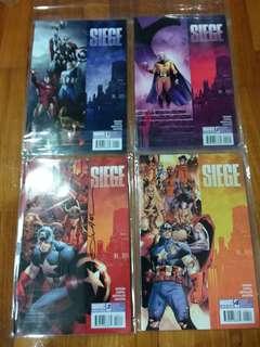 Marvel - Siege #1 to #4
