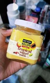 Fruit Yogurt Mask