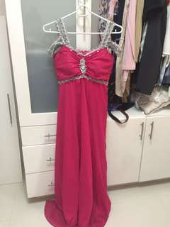 REPRICED Pink evening gown