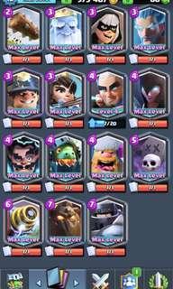 Clash Royale Max Account