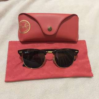 Rayban RB 3016 Clubmaster W0366 Authentic